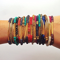 thehightowercollection_handmadejewelrynataliehightower_bracelets_onarm