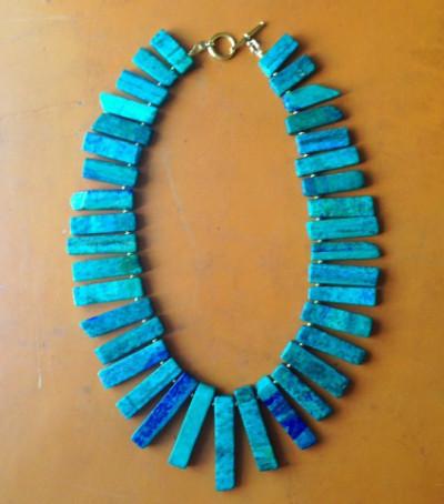 thehightowercollection_handmadejewelrynataliehightower_necklace_azuritestoneswithhematite